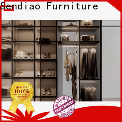 Sendiao Furniture solid wood wardrobe cabinet company a living room