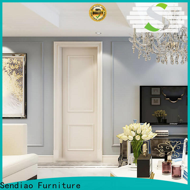 Sendiao Furniture fashion solid wood interior doors Suppliers four-star hotel