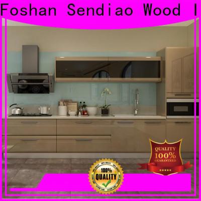 Sendiao Furniture sdk08 contemporary kitchen cabinets company a living room