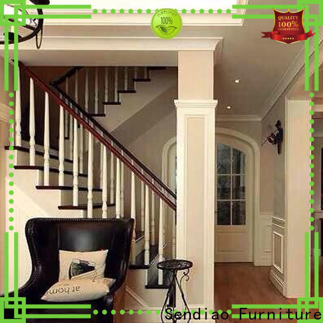 Wholesale hardwood stairs wood manufacturers a living room
