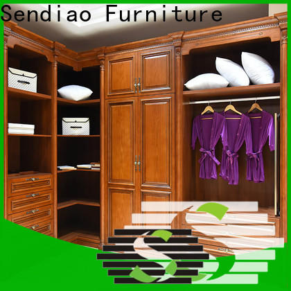 Sendiao Furniture Latest solid wood wardrobes company study