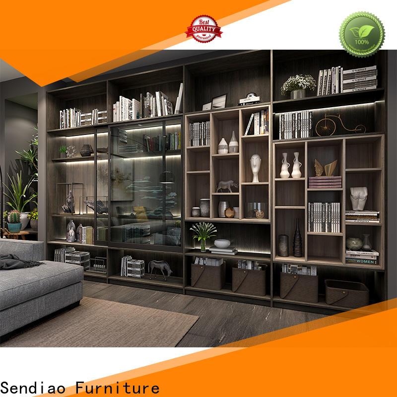 Best wooden bookcase cabinet for business fivestar hotel