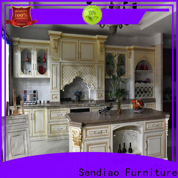 Sendiao Furniture Custom modular kitchen cabinets for business a living room