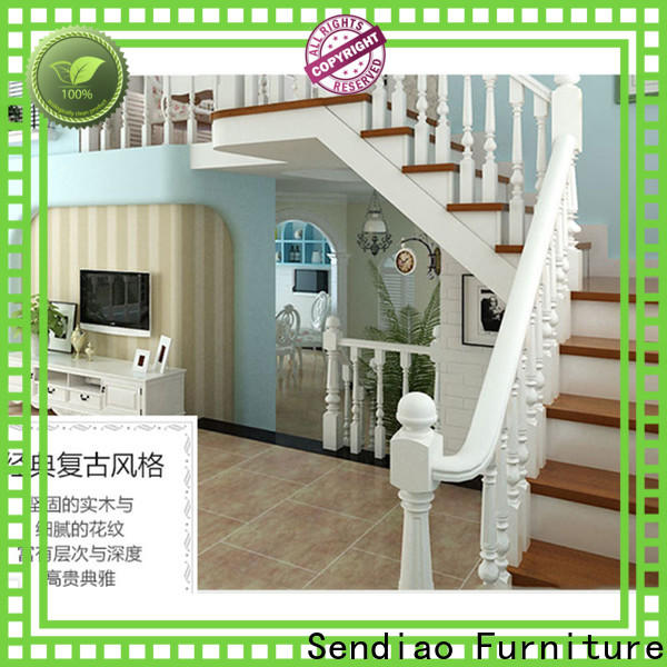 Sendiao Furniture Best wooden spiral staircase Supply four-star hotel