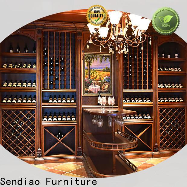 Latest bespoke wine cabinet wine Suppliers four-star hotel
