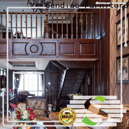 New hardwood stairs spiral factory chateau