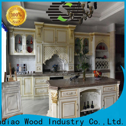Best solid wood kitchen cabinets design manufacturers study