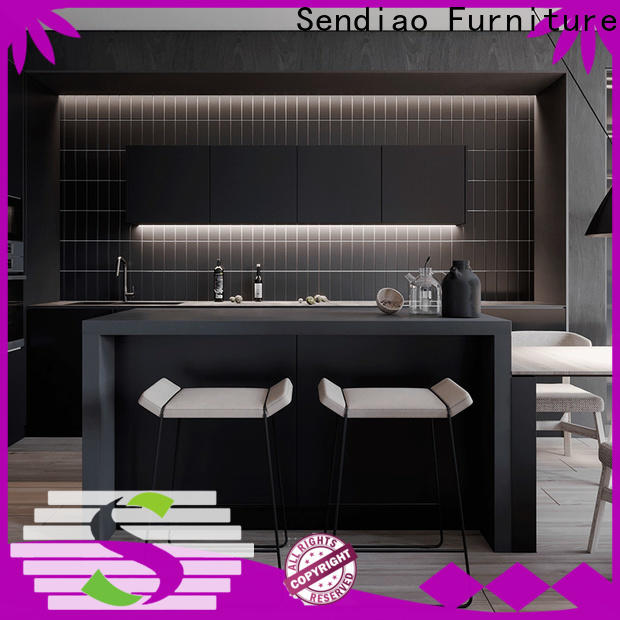 Wholesale bespoke kitchen cabinet sdk05 Supply fivestar hotel