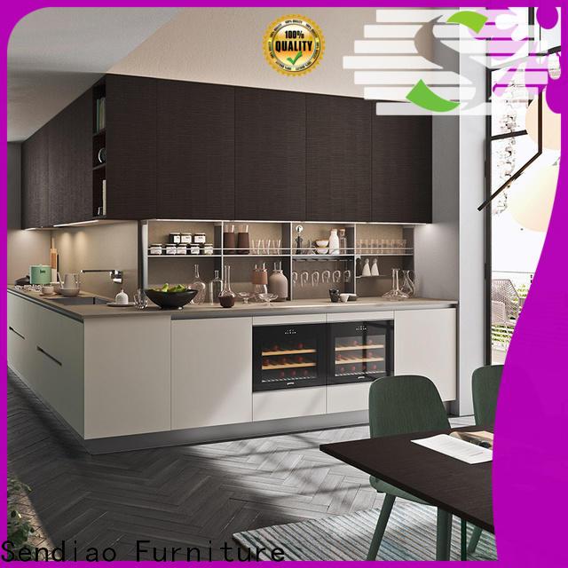 Sendiao Furniture Best bespoke kitchen cabinet Supply a living room