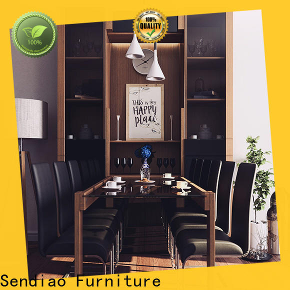 Sendiao Furniture High-quality wooden bookcase for business four-star hotel