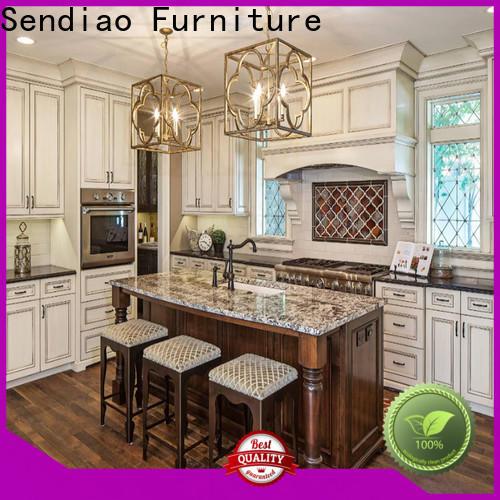 Sendiao Furniture Wholesale wooden kitchen cupboards Supply three-star hotel
