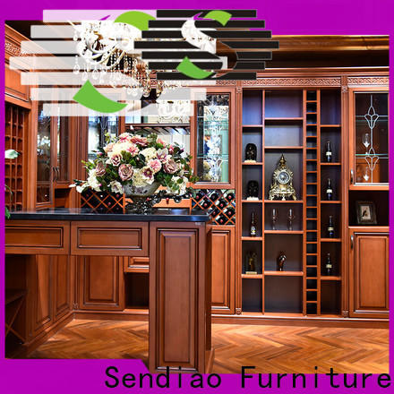Sendiao Furniture sdwi02 wood wine cabinet factory chateau