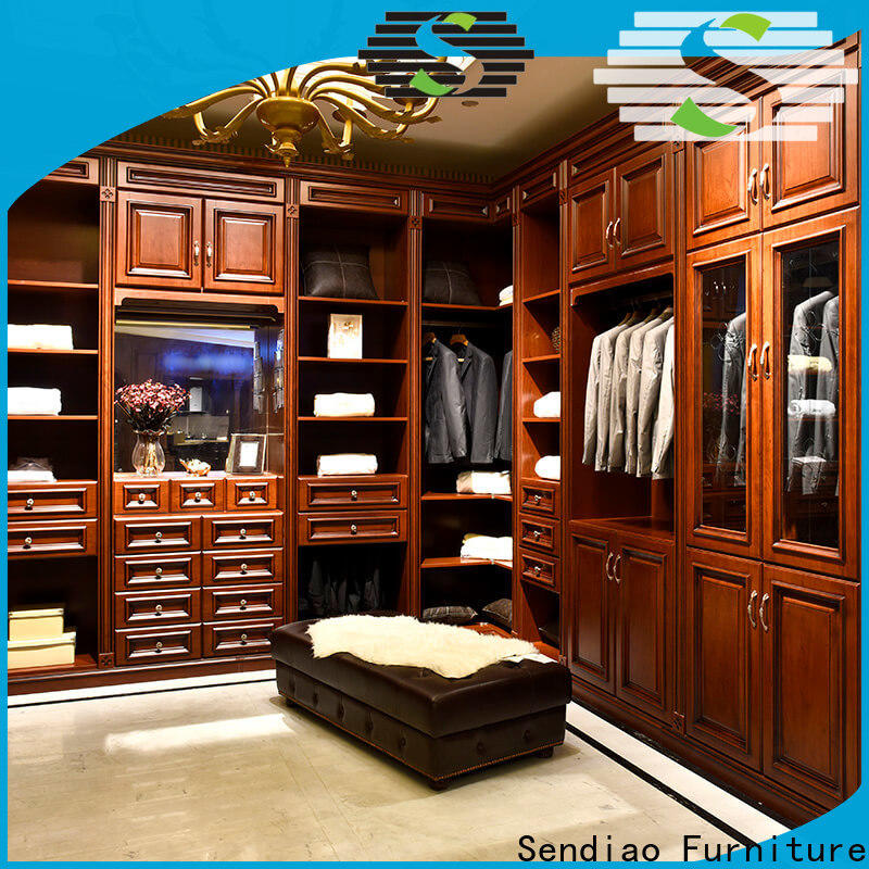 Sendiao Furniture bedroom bespoke wardrobe Supply bedroom