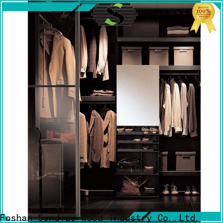 Best wooden wardrobe cabinet factory chateau