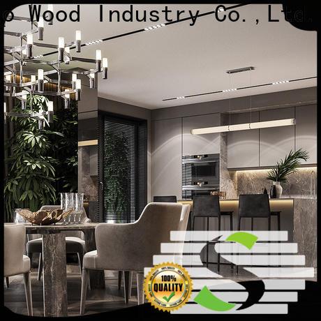 Sendiao Furniture High-quality custom kitchen cabinets company a living room