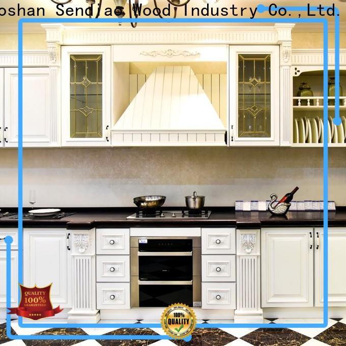 Sendiao Furniture sdk03 real wood kitchen cabinets company study