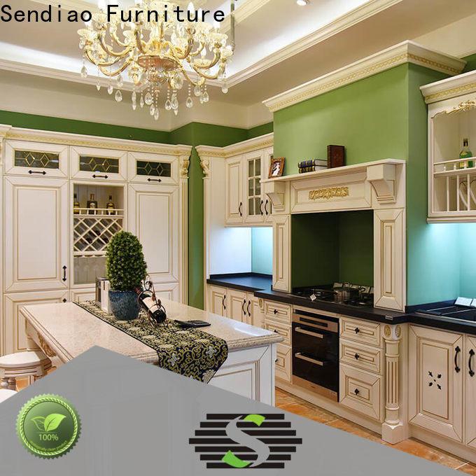 Sendiao Furniture cabinets bespoke kitchen cabinet Supply fivestar hotel