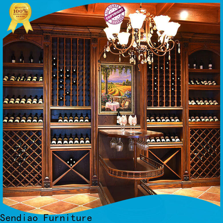 Sendiao Furniture New solid wood wine cabinet Suppliers chateau