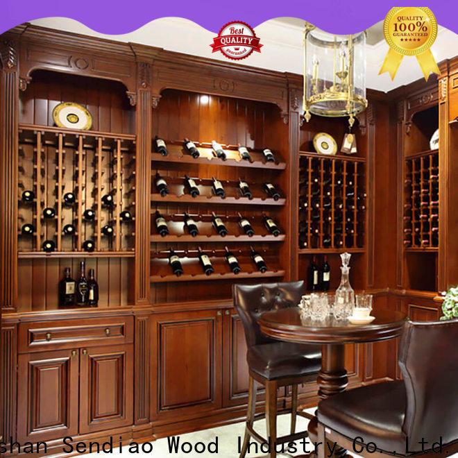Sendiao Furniture Best wood wine cabinet Suppliers study