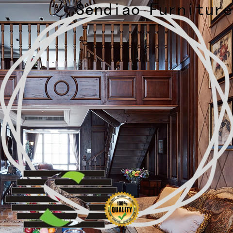 Sendiao Furniture modular bespoke wooden staircases for business a living room