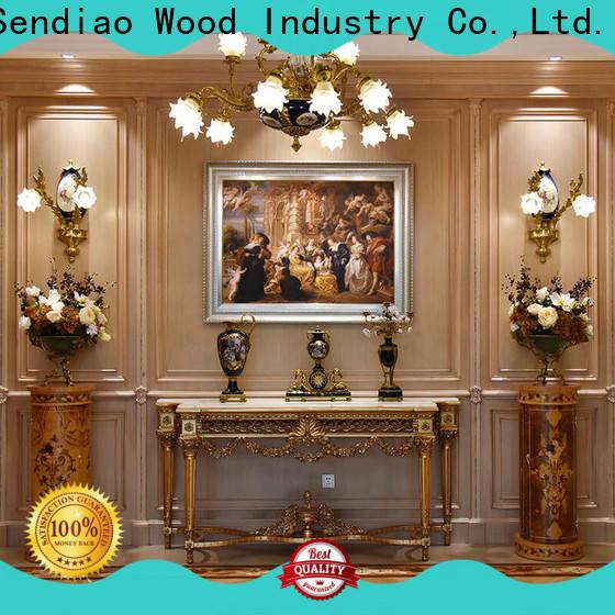 Sendiao Furniture Top decorative wood molding for walls company study