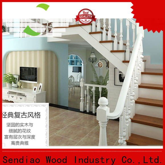 High-quality wooden spiral staircase wood for business bedroom