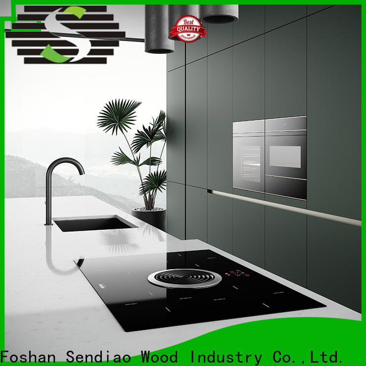 Sendiao Furniture Latest solid wood kitchen cabinets factory exhibition hall