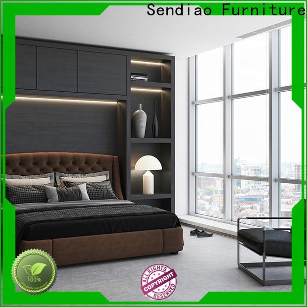 Latest wooden wardrobe closet wood for business fivestar hotel