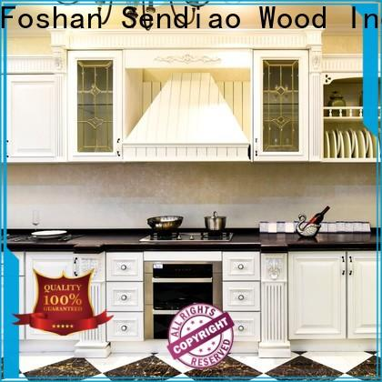 Sendiao Furniture sdk04 bespoke kitchen cabinet for business study