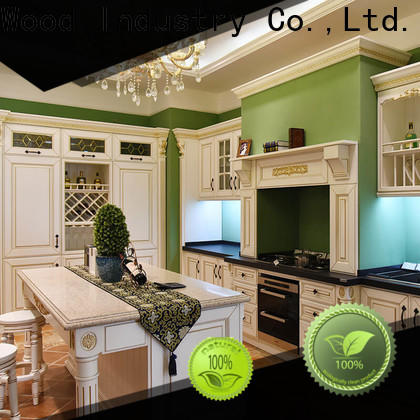 Sendiao Furniture High-quality contemporary kitchen cabinets factory four-star hotel
