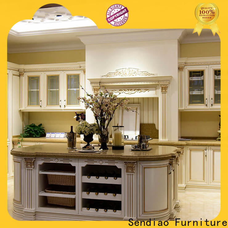 Sendiao Furniture High-quality custom kitchen cabinets Suppliers fivestar hotel