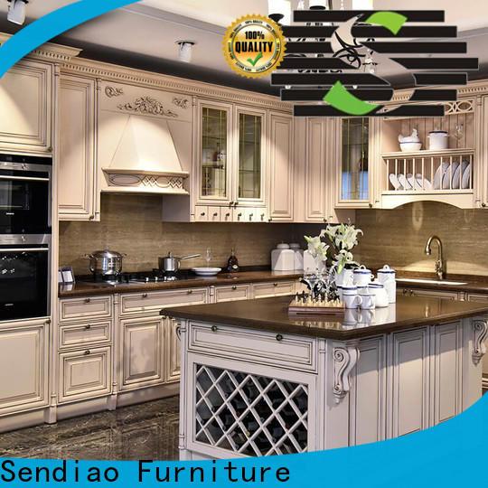 Sendiao Furniture High-quality custom kitchen cabinets Supply three-star hotel