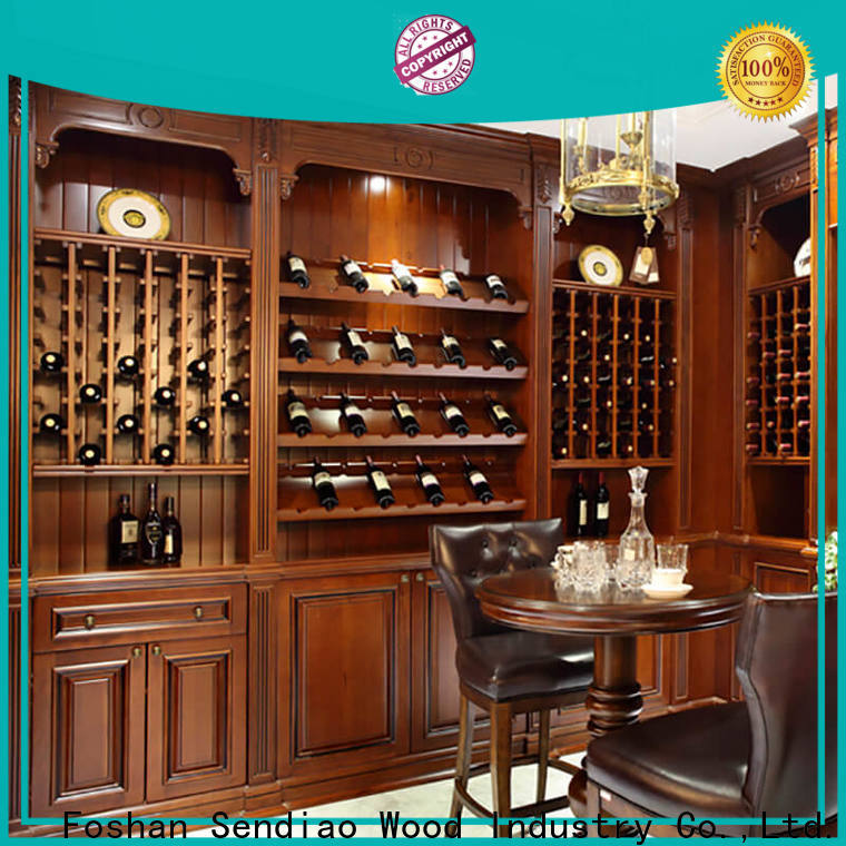 Sendiao Furniture Wholesale wine rack cabinet manufacturers a living room