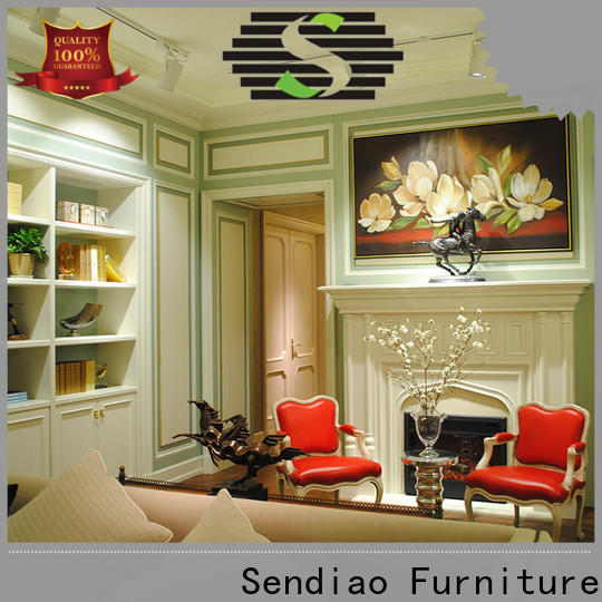 Sendiao Furniture furniture decorative wall molding panels company a living room