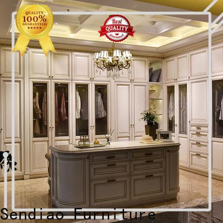 High-quality bespoke wardrobe wood factory exhibition hall