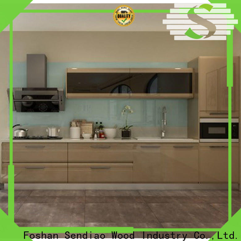 High-quality real wood kitchen cabinets freedom factory bedroom