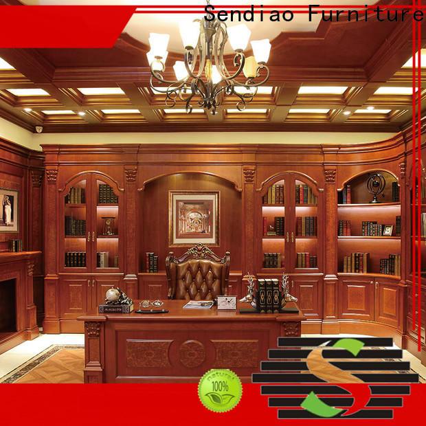 Sendiao Furniture Custom bespoke bookcases Suppliers fivestar hotel
