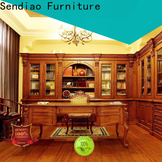 Best solid wood bookcases study factory study