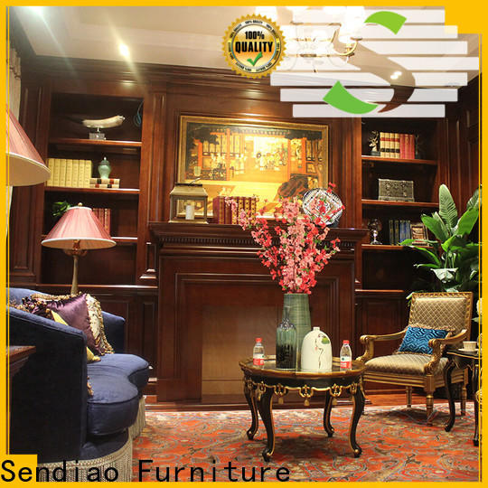 Sendiao Furniture High-quality decorative storage cabinets for business four-star hotel