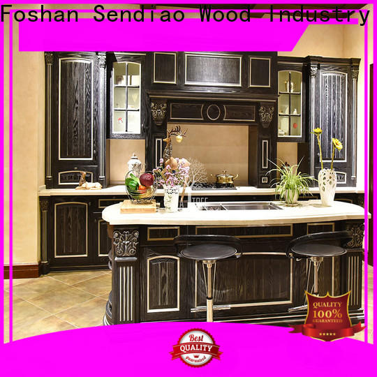 Sendiao Furniture luxury contemporary kitchen cabinets Suppliers a living room