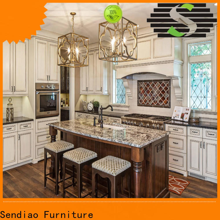Sendiao Furniture furniture solid wood kitchen cupboards Supply four-star hotel