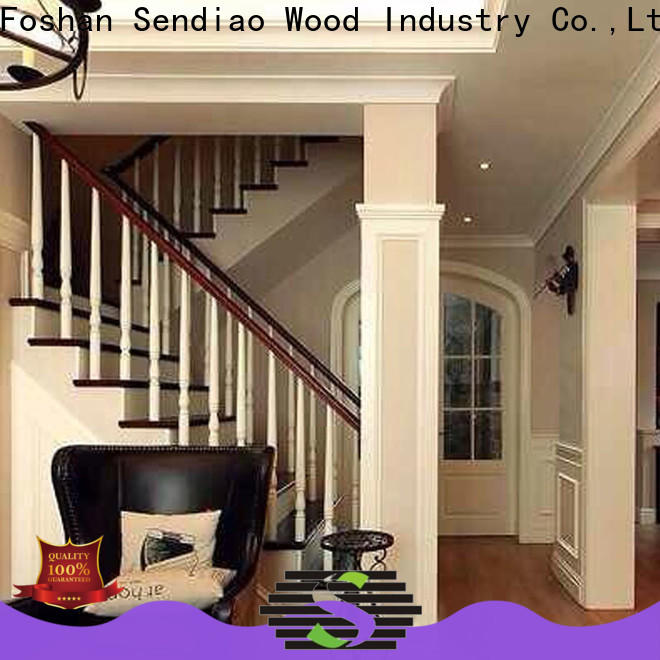 Best wooden staircase staircase Supply fivestar hotel