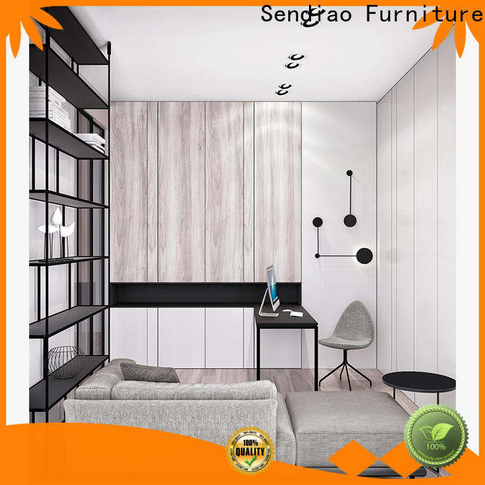 Latest decorative storage cabinets wood manufacturers four-star hotel