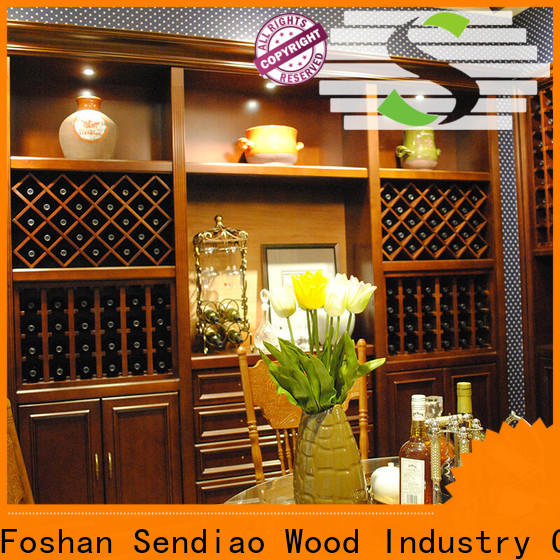 Sendiao Furniture Latest wood wine rack cabinet Suppliers a living room