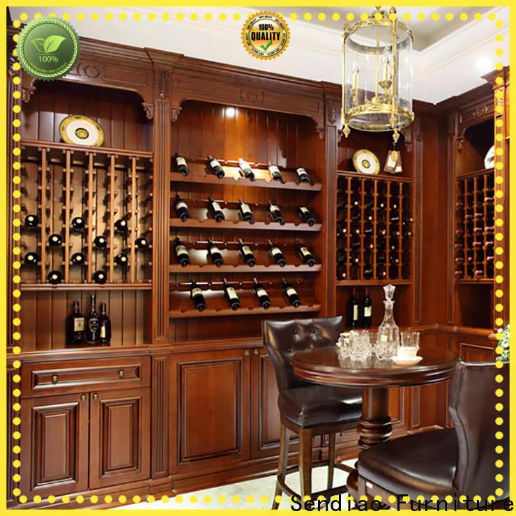 Sendiao Furniture Latest wood wine cabinet factory fivestar hotel