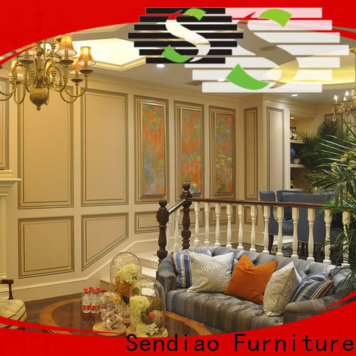 High-quality wooden staircases modular Suppliers four-star hotel