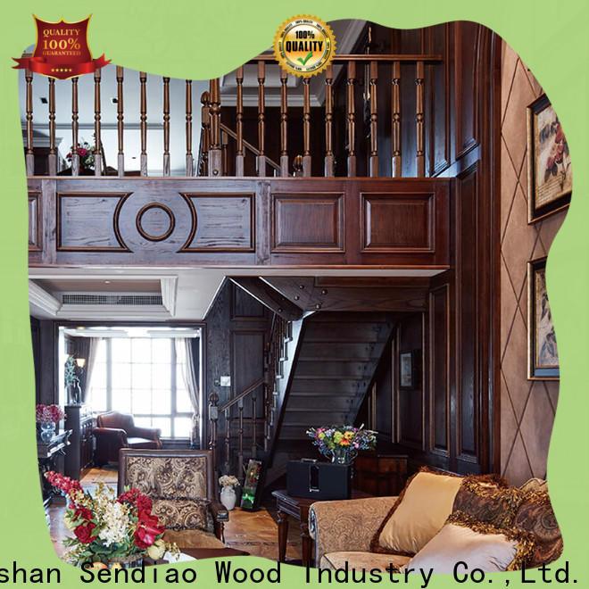 Sendiao Furniture staircase hardwood stairs Supply three-star hotel