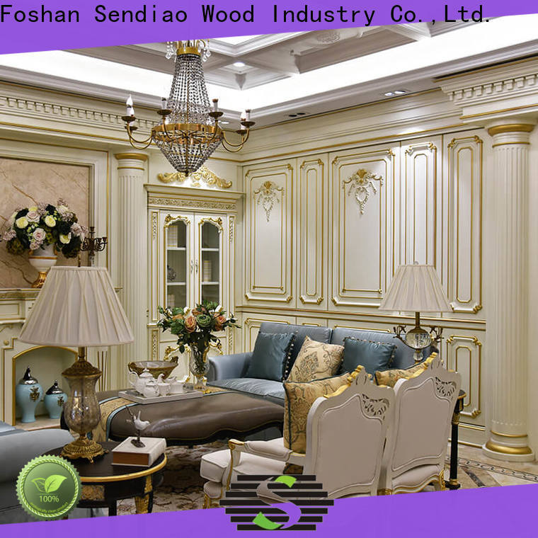 Sendiao Furniture club decorative wood molding for walls Supply four-star hotel
