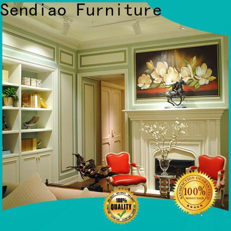 Sendiao Furniture club decorative wall molding panels Supply three-star hotel