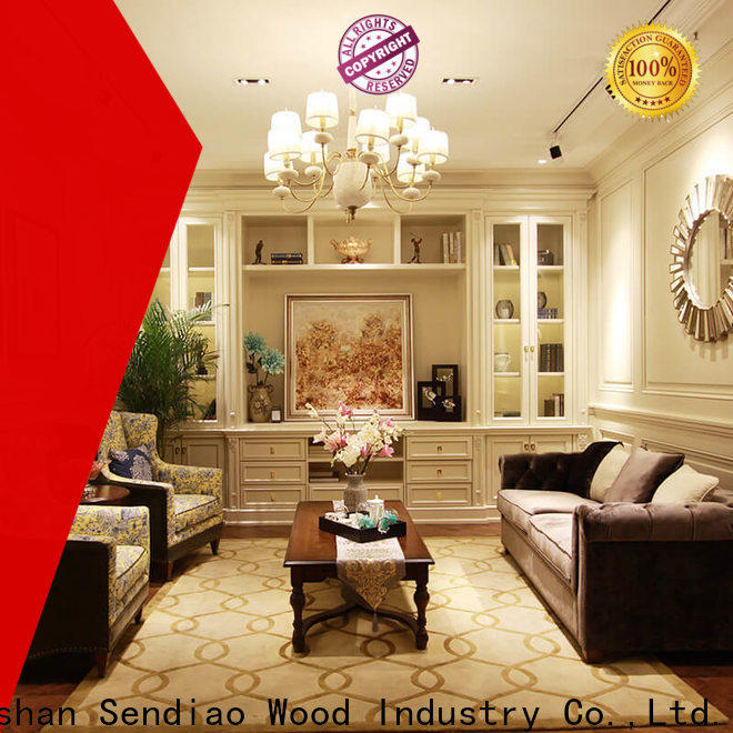 Sendiao Furniture wood decorative wall cabinet Suppliers exhibition hall